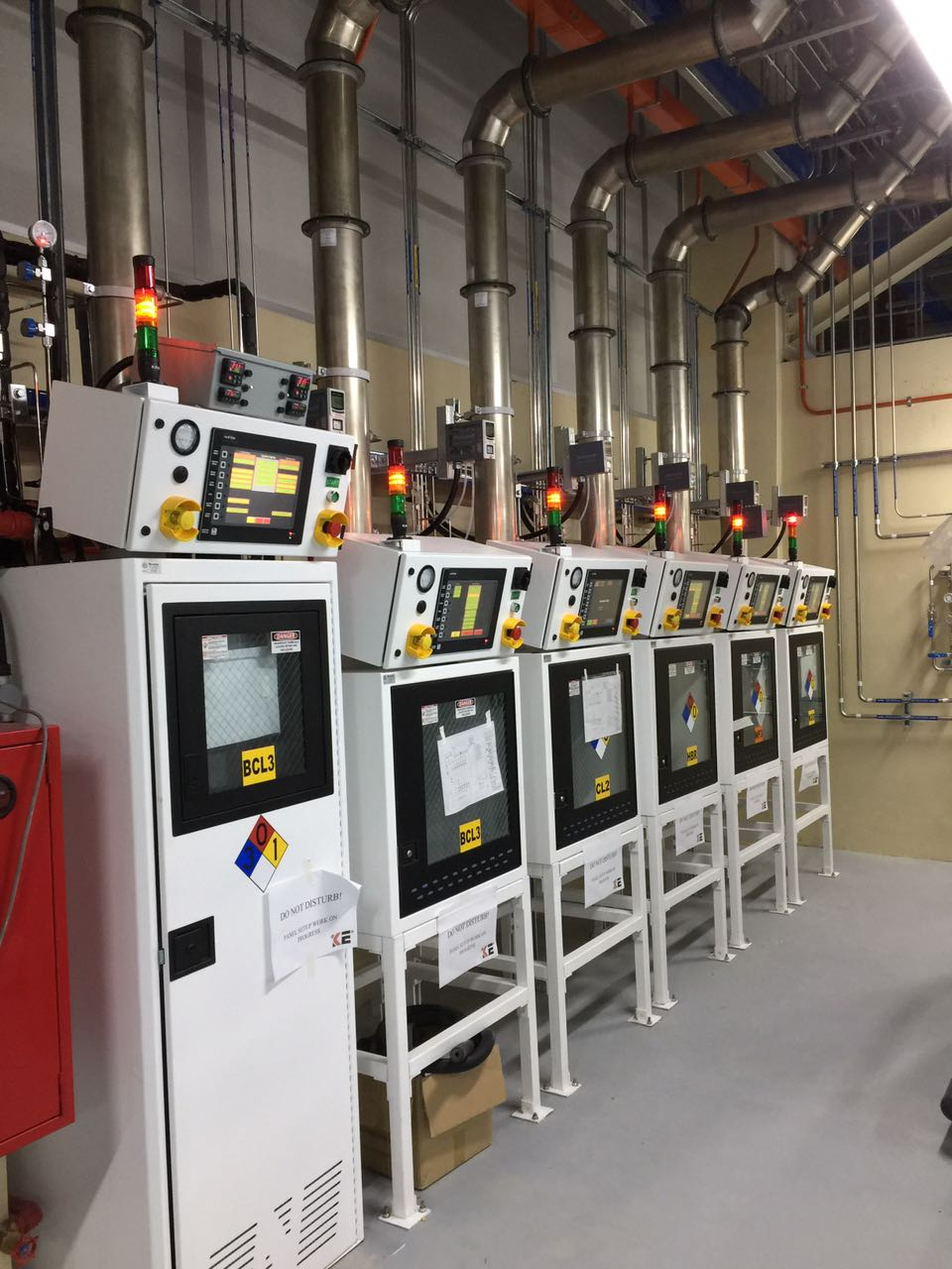 We Also Work With Major Gas Cabinet Manufacturers To Provide Our Clients  With A Wide Range Of Solutions That Meet Their Needs.